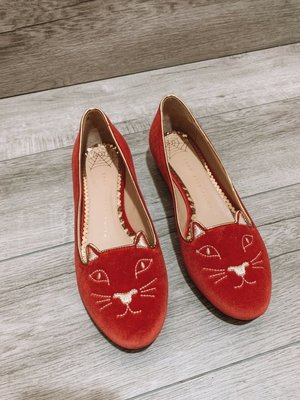 特價 Charlotte Olympia Kitty Flats經典貓咪鞋
