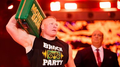 [美國瘋潮]正版WWE Brock Lesnar Suplex Party T-shirt 翻摔趴踢MITB最新短袖衣服