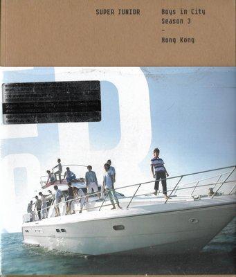 SUPER JUNIOR / Boys In City Season 3 Hong Kong(韓國盤)