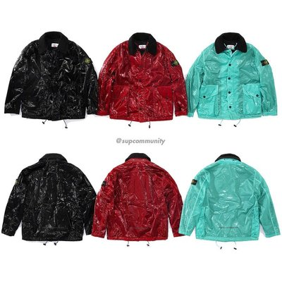 【美國鞋校】預購 Supreme ss19 Stone Island New Silk Light Jacket 夾克