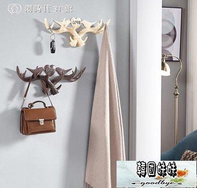 衣帽架玄關置物架裝飾壁掛衣服創意掛衣架...