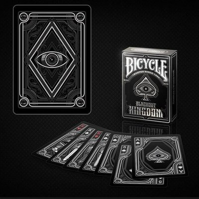 【USPCC撲克】Bicycle blackout kingdom Playing Cards