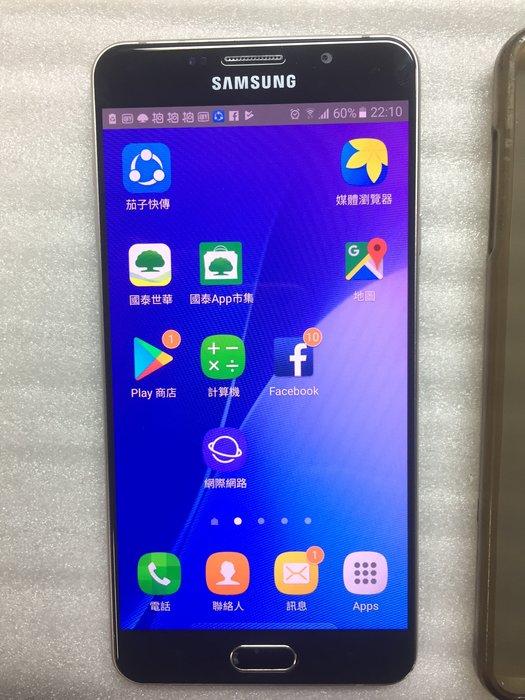 Samsung GALAXY 2016 A7 金色 二手 功能正常支援雙卡雙待 5.5吋大螢幕