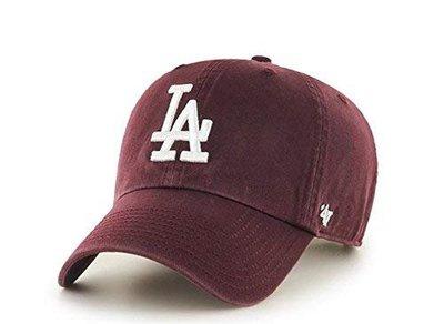 【YZY台灣】47 BRAND LOS ANGELES DODGERS 道奇 老帽 老爺帽 MLB LOGO 酒紅 限
