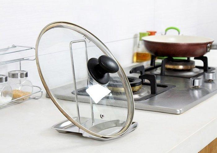 鍋蓋架 不鏽鋼鍋蓋架 瀝水架 餐具架 鍋架 我們的創意生活館 【3G096】