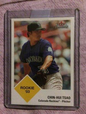 曹錦輝MLB棒球卡