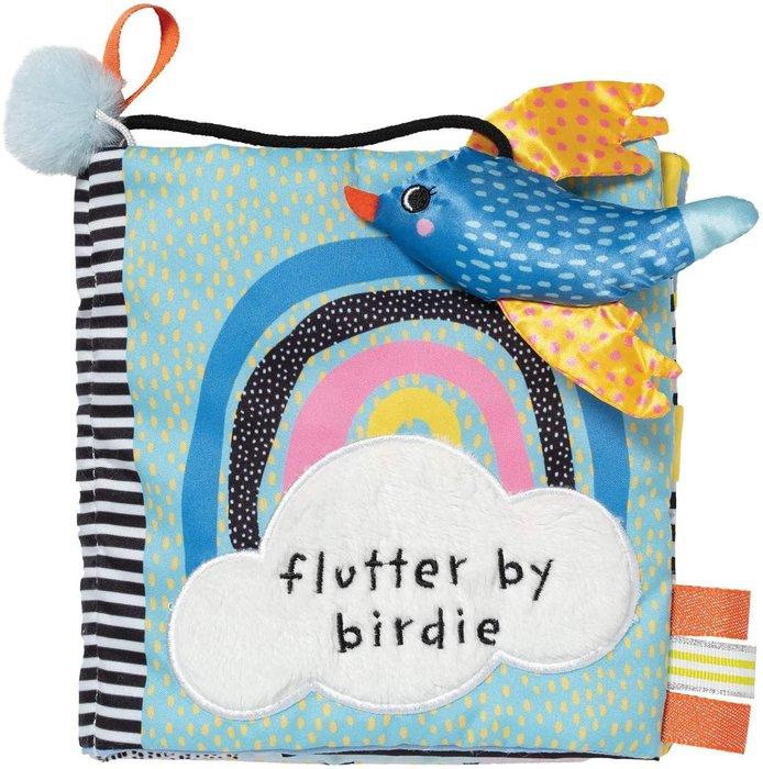 預購 美國 Manhattan Toy 啟蒙認知軟布書 鳥兒飛去哪 認知學習 感官發展 沙沙響紙