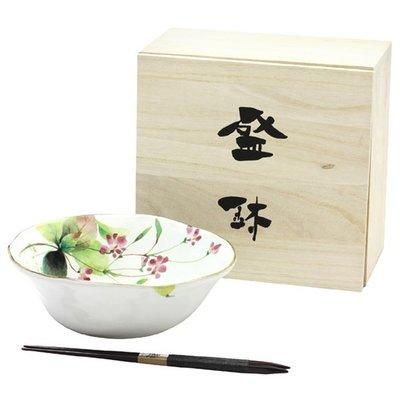 ~ 和藍~花つづり碗筷組  美濃燒   日式 無毒 瓷器 生日 結婚 送禮 工藝 收藏品