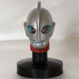 日版盒玩 超人力霸王 鹹蛋超人 光之巨人 發光頭像 2代 ~單賣:編號06(含發光燈座)