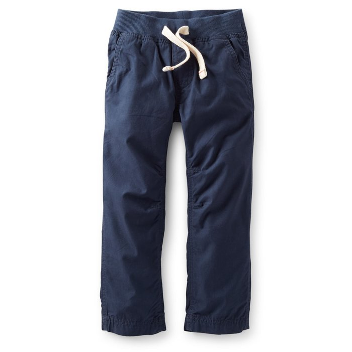 【Nichole's歐美進口優質童裝】Carter's 男童海軍藍抽繩長褲 *Old Navy/OshKosh
