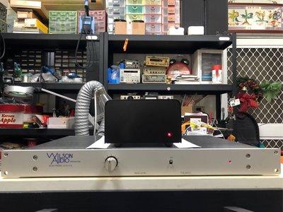 【杰士音響→中古二手買賣交換】美國Wilson Audio 平衡式電子分音器(Balanced GSB),頂級品非常罕見