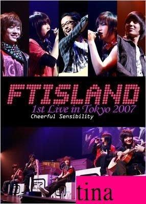 原來是美男』李洪基F.T Island 1st Concert In Tokyo-Cheerful Sensibility日版演唱會DVD贈照片卡寫真集