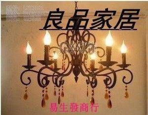 【易生發商行】歐式鐵藝吊燈 燈飾燈具 ...