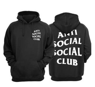 〈 KL kiosk 〉現貨  Anti Social Social Club Mind Game Hood 黑