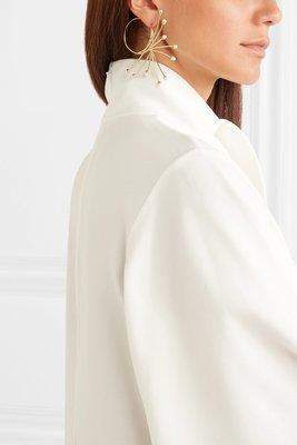 ELLERY  珍珠 鍍金 耳環
