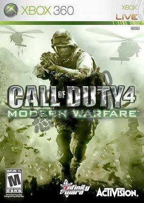 【二手遊戲】XBOX36  決勝時刻4:現代戰爭 Call of Duty:Modern Warfare【台中恐龍電玩】 台中市