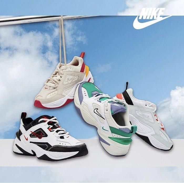 【Luxury】NIKE M2K TEKNO 老爹鞋 厚底鞋 紅 橘 藍 男鞋 女鞋 男女鞋 情侶鞋 韓國代購 正品