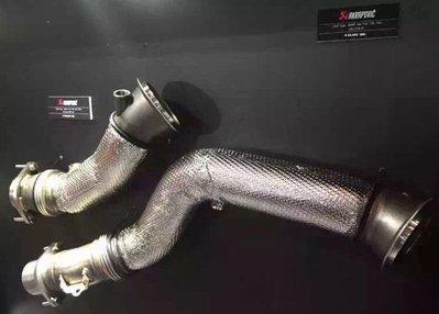BMW F80 F82 F83 M3/M4 排氣系統 akrapovic 蠍牌 鈦合金頭段 當派