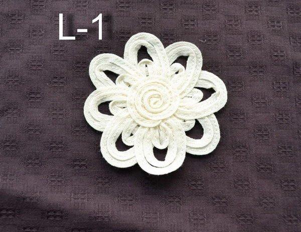 *巧巧布拼布屋*日本進口~蕾絲花片-有3款 / 拼布材料 / 自然風拼布包裝飾配件
