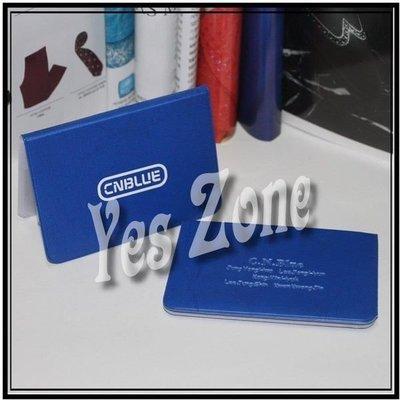 Yes Zone 偶像精品 卡片銀包 卡片套 cnblue 鄭容和 李宗泫 姜敏赫 李正信 清貨$20包郵