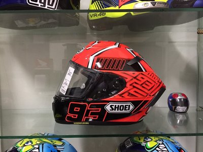 阿群部品 SHOEI X-14 MM93 X-Fourteen MARQUEZ 4