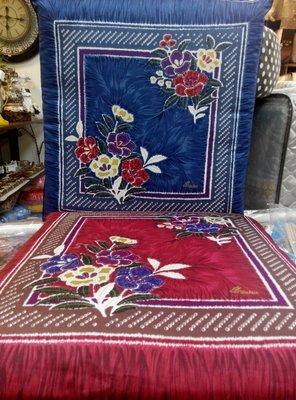 三寶家飾~台灣製造共三款二色、純綿雙面印花可拆洗,日式椰棕坐墊打禪坐墊和室坐墊尺寸約:50*50*7公分
