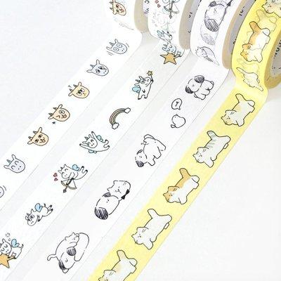 ❅PAVEE❅  韓國iconic~ Masking Tape 寧靜生活 裝飾和紙膠帶~ emotion