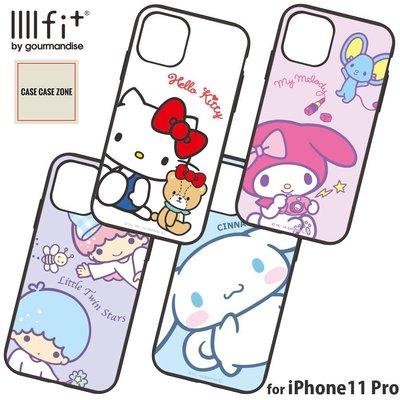 日本代購!Gourmandise系列Sanrio卡通人物iPhone 11 TPU手機殼!