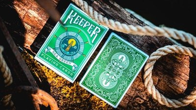 [808 MAGIC] 魔術道具 GREEN KEEPERS Playing Cards