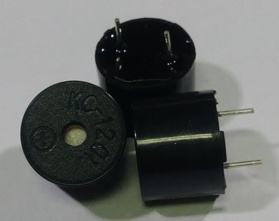 (5個一標) 無源蜂鳴器 KC-1201 脈衝式蜂鳴器 蜂鳴器 BUZZER