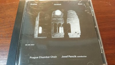 Prague Chamber Choir Josef Pancik conductor新古典發燒錄音盤ECM NEW SERIES 1539 寂靜以外最美的聲音