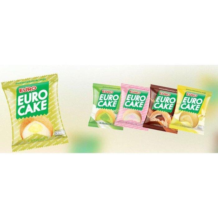 泰國 Euro Cake 歐樂蛋糕 蛋黃派 5種口味