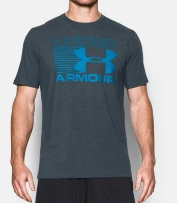 ~滿3000超取郵寄免運~【戶外風】UNDER ARMOUR HG PTI Stacked Wordmark短袖T恤
