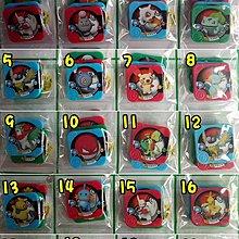 ☆升升趣味屋☆精靈寶貝卡匣 神奇寶貝卡匣 方形卡匣 寶可夢 (1組3入裝)(C0143)