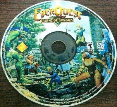 PC GAME:EverQuest無盡的任務--THE RUINS OF KUNARK/2手