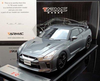 【MASH】現貨瘋狂價 Tarmac Works 1/18 Nissan GT-R R35 2017 grey
