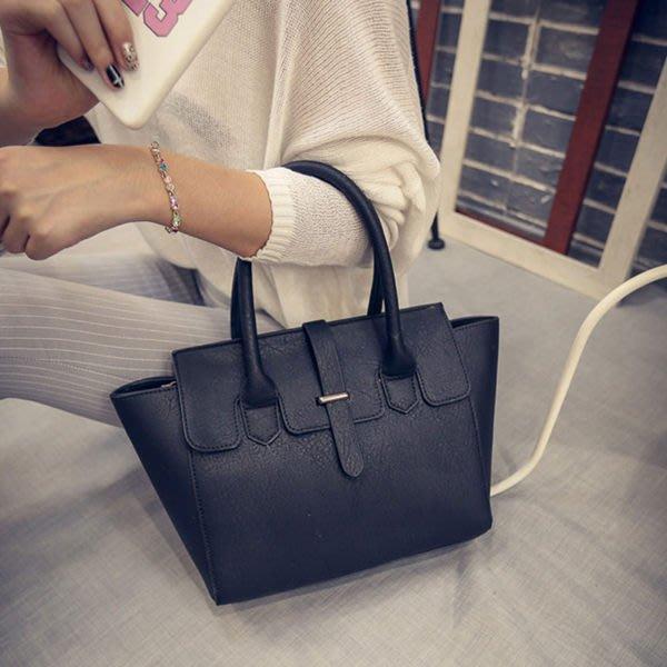 (断)手提包  歐美時尚磨砂質感大方包側背包【O2986】☆雙兒網☆
