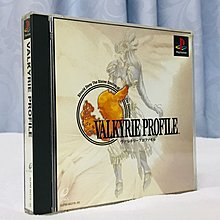 Play Station PS1 game Valkyrie Profile 北歐女神 日版 新淨
