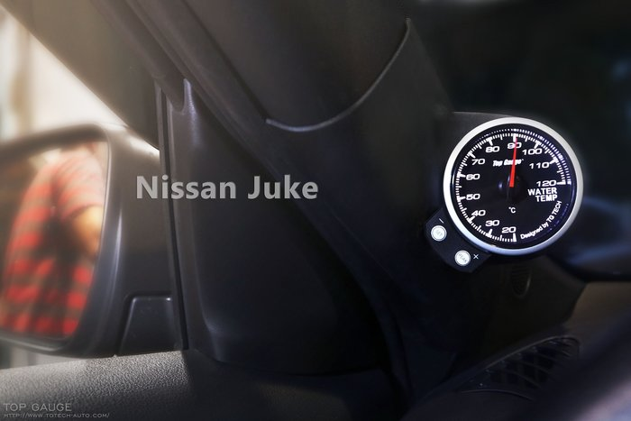 精宇科技NISSAN BIG TIIDA JUKE專車專用A柱錶座