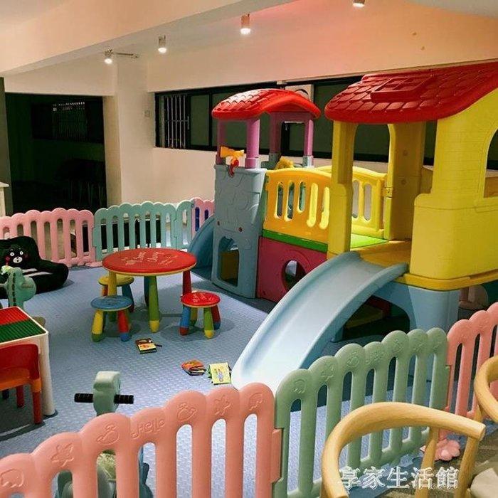 (免運)小神童城堡滑梯室內組合兒童小型游樂設備商場滑梯家用寶寶大滑梯【莉芙小鋪】