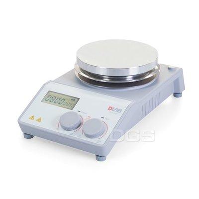 『德記儀器』《DLAB》電磁加熱攪拌器 LCD5吋圓盤 Stirrer with Heating