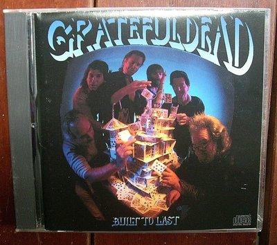 CD(美版.無IFPI)~最大咖迷幻搖滾團Grateful Dead-Built To Last專輯.收錄Foolish Heart等