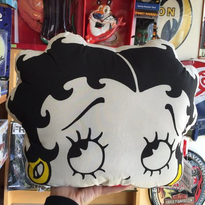 (I LOVE樂多) 日本進口 BETTY BOOP 貝蒂 雙面造型抱枕 靠枕 (B款)