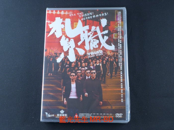 [藍光先生DVD] 紮職 Triad - 2012新一代寫實古惑仔電影