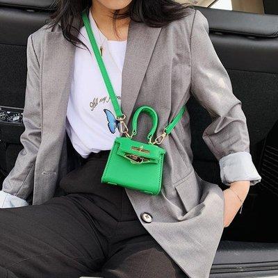 凱莉包迷你小包包女2020流行新款潮夏季洋氣百搭斜背包高級感手提凱莉包