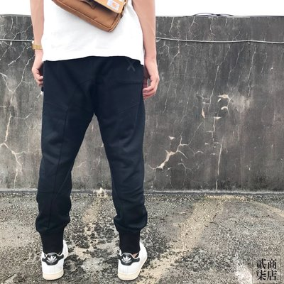 (D.S) adidas Originals XBYO Sweatpants 男款 黑色 縮口 棉褲 長褲 BQ3108