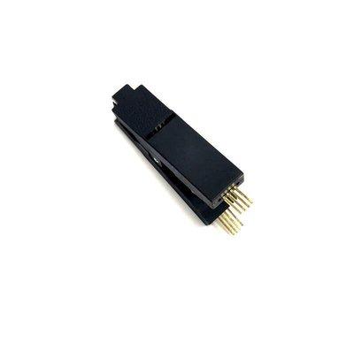 【滿299元出貨】測試夾 SOP8 八腳BIOS夾子 寬窄體8腳通用夾 適配夾 燒錄芯片DIP