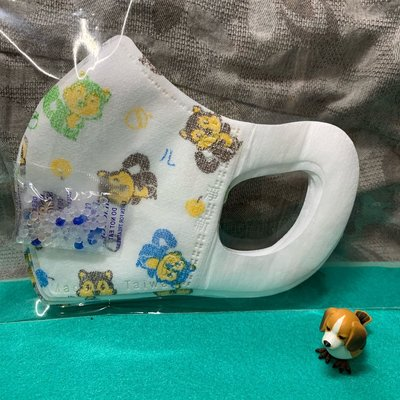 現貨淨新🌈松鼠🌈幼幼3D立體口罩(10入)