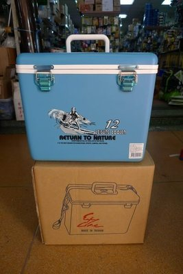 附發票*東北五金*高品質 隨身冰箱 釣魚冰箱 行動冰箱 保冰箱 保溫箱 12公升 優惠特價中!