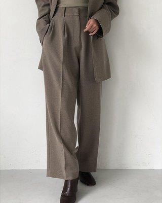【預購】日本連線TODAYFUL冬19新入荷Centerpress Trousers復古千鳥格紋西裝褲長褲Ungrid